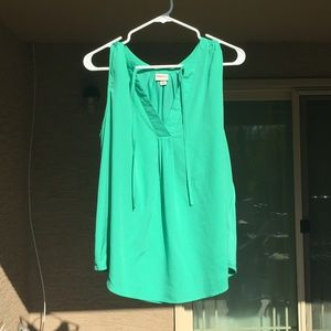 NWOT green business casual top